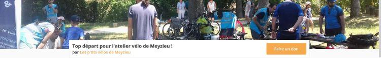 Soutenir l'association Les P'tits vélos